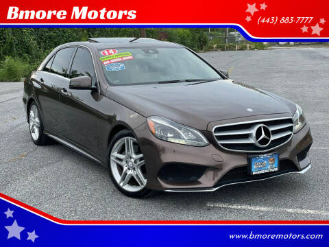 2014 Mercedes-Benz E-Class for sale at Bmore Motors in Baltimore MD