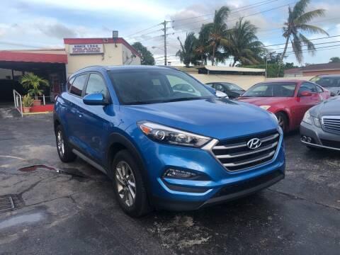 2018 Hyundai Tucson for sale at CAR UZD in Miami FL