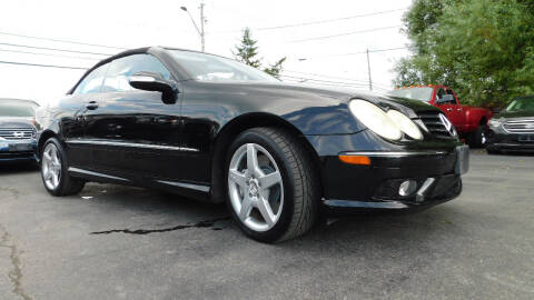 2005 Mercedes-Benz CLK for sale at Action Automotive Service LLC in Hudson NY