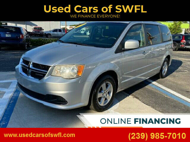 2012 Dodge Grand Caravan for sale at Used Cars of SWFL in Fort Myers FL