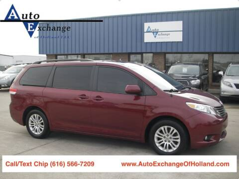 2012 Toyota Sienna for sale at Auto Exchange Of Holland in Holland MI