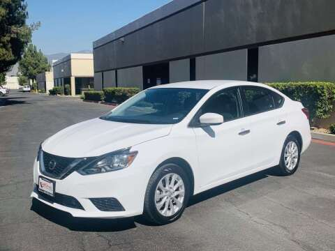 2019 Nissan Sentra for sale at CARLIFORNIA AUTO WHOLESALE in San Bernardino CA