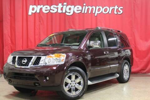 2013 Nissan Armada for sale at Prestige Imports in St Charles IL