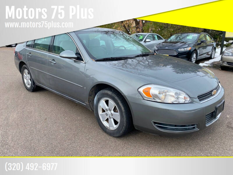 2008 Chevrolet Impala for sale at Motors 75 Plus in Saint Cloud MN