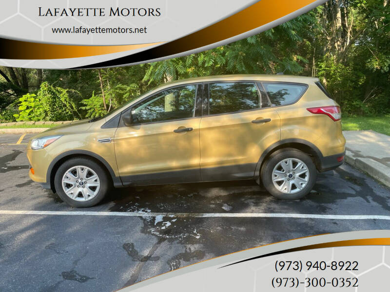 2015 Ford Escape for sale at Lafayette Motors 2 in Andover NJ