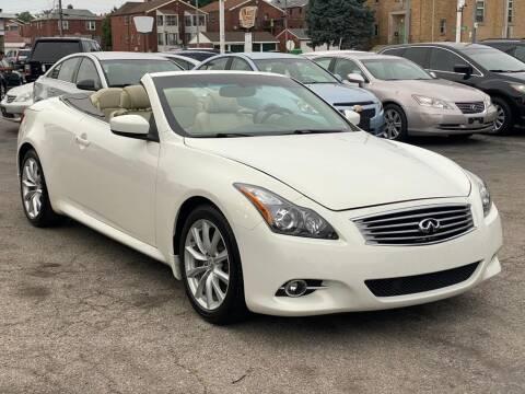 2012 Infiniti G37 Convertible for sale at IMPORT Motors in Saint Louis MO