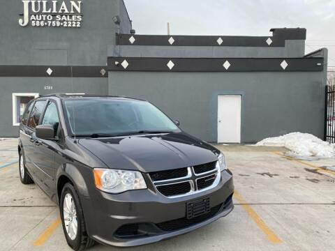 2016 Dodge Grand Caravan for sale at Julian Auto Sales, Inc. in Warren MI