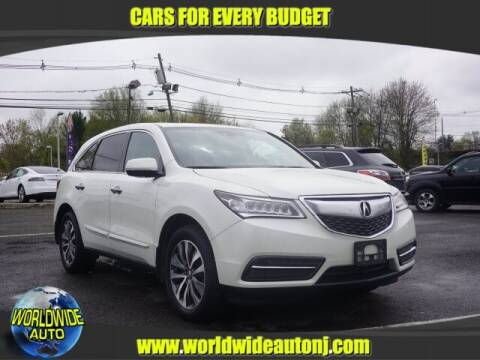2015 Acura MDX for sale at Worldwide Auto in Hamilton NJ