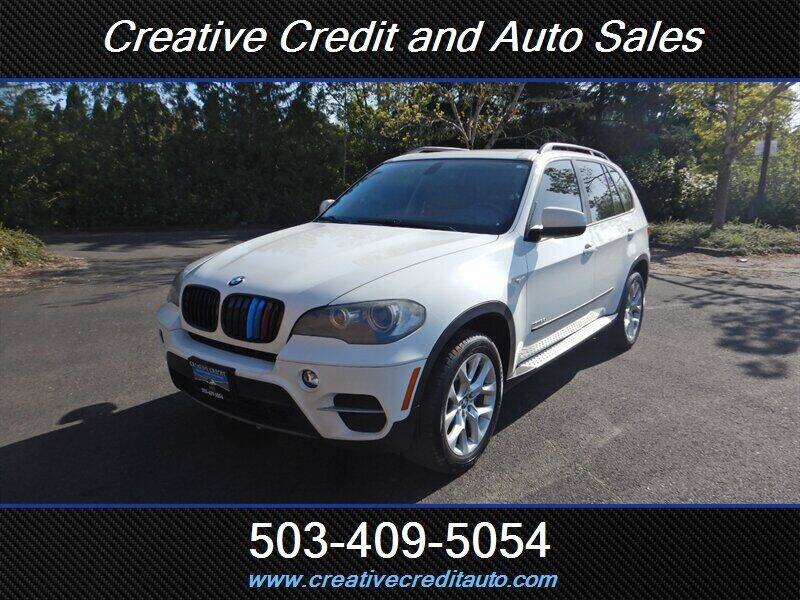 2011 BMW X5 for sale at Creative Credit & Auto Sales in Salem OR