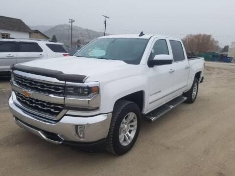 2017 Chevrolet Silverado 1500 for sale at AUTO BROKER CENTER in Lolo MT