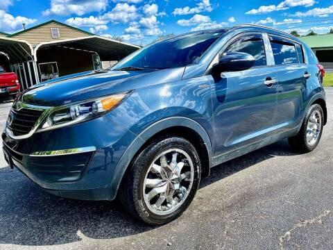 2013 Kia Sportage for sale at Prime Time Auto Sales LLC in Martinsville IN