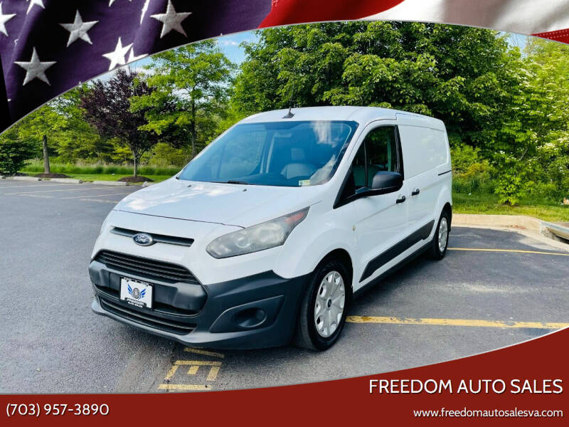 2014 Ford Transit Connect Cargo for sale at Freedom Auto Sales in Chantilly VA