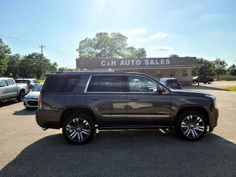 2019 GMC Yukon for sale at C & H AUTO SALES WITH RICARDO ZAMORA in Daleville AL