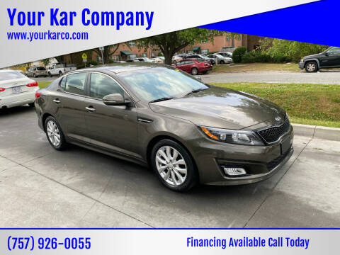 2014 Kia Optima for sale at Your Kar Company in Norfolk VA