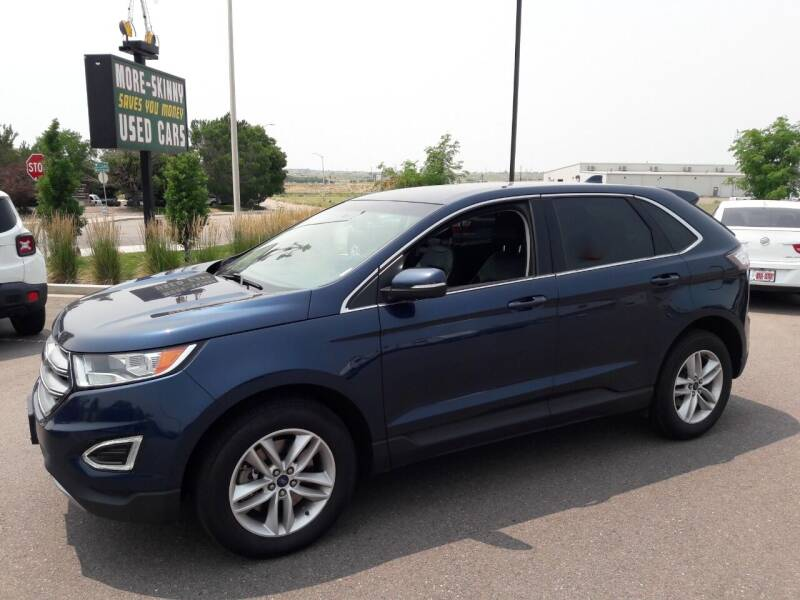 2017 Ford Edge for sale at More-Skinny Used Cars in Pueblo CO