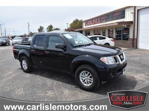 2016 Nissan Frontier for sale at Carlisle Motors in Lubbock TX