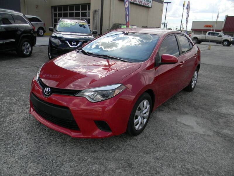 2014 Toyota Corolla for sale at Meridian Auto Sales in San Antonio TX