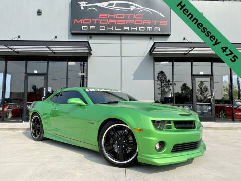 2011 Chevrolet Camaro for sale at Exotic Motorsports of Oklahoma in Edmond OK