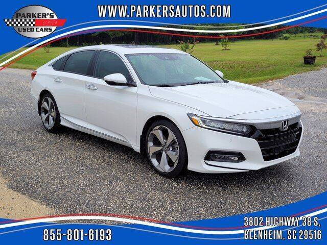 2018 Honda Accord for sale at Parker's Used Cars in Blenheim SC