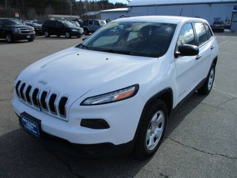 2016 Jeep Cherokee for sale at Ripley & Fletcher Pre-Owned Sales & Service in Farmington ME