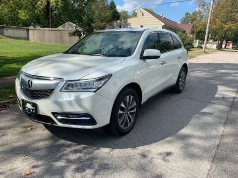 2015 Acura MDX for sale at Eddie's Auto Sales in Jeffersonville IN
