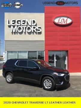 2020 Chevrolet Traverse for sale at Legend Motors of Ferndale in Ferndale MI