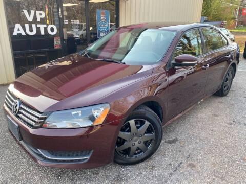 2014 Volkswagen Passat for sale at VP Auto in Greenville SC