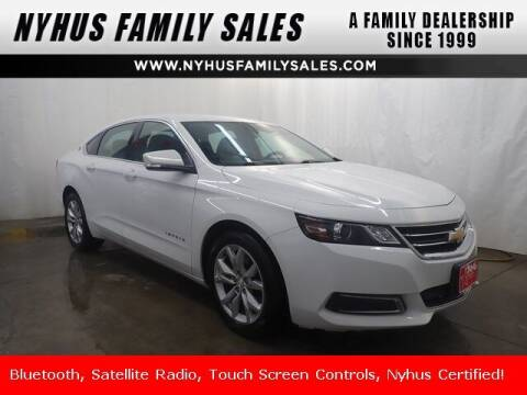 2016 Chevrolet Impala for sale at Nyhus Family Sales in Perham MN