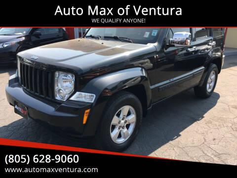 2012 Jeep Liberty for sale at Auto Max of Ventura in Ventura CA