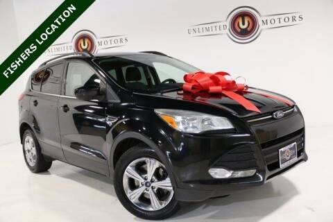 2014 Ford Escape for sale at Unlimited Motors in Fishers IN