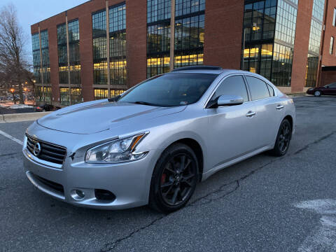 2012 Nissan Maxima for sale at Auto Wholesalers Of Rockville in Rockville MD
