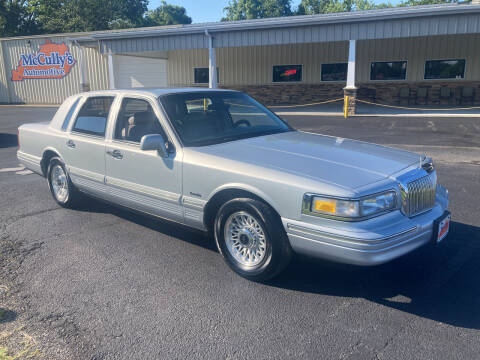 1997 Lincoln Town Car for sale at McCully's Automotive - Under $10,000 in Benton KY