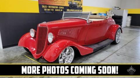 1934 Ford Roadster for sale at UNIQUE SPECIALTY & CLASSICS in Mankato MN
