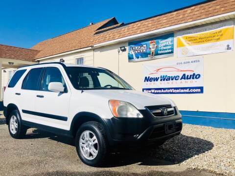 2002 Honda CR-V for sale at New Wave Auto of Vineland in Vineland NJ