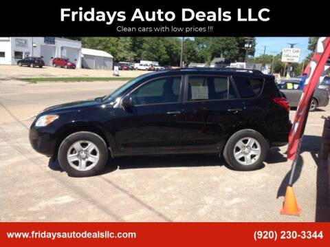 2011 Toyota RAV4 for sale at Fridays Auto Deals LLC in Oshkosh WI