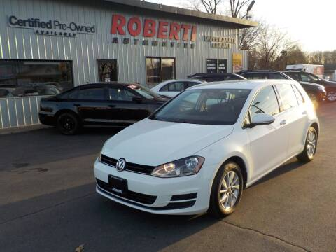 2015 Volkswagen Golf for sale at Roberti Automotive in Kingston NY