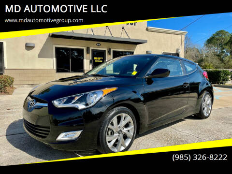 2017 Hyundai Veloster for sale at MD AUTOMOTIVE LLC in Slidell LA