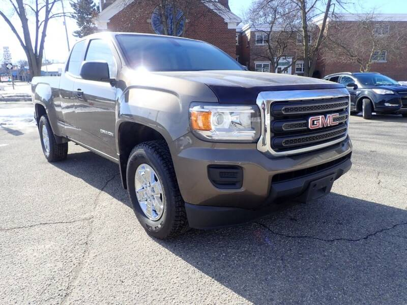 2016 GMC Canyon for sale at Marvel Automotive Inc. in Big Rapids MI