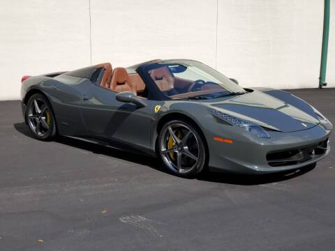 2013 Ferrari 458 Spider for sale at VA Leasing Corporation in Doral FL