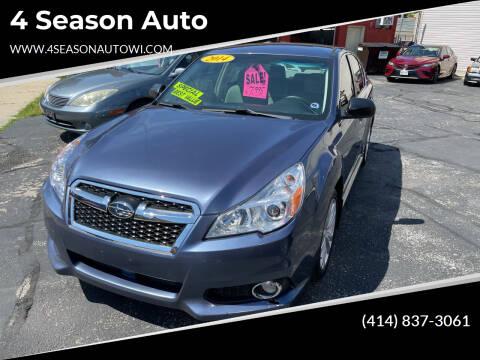 2014 Subaru Legacy for sale at 4 Season Auto in Milwaukee WI