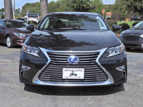 2017 Lexus ES 300h for sale at Auto Finance of Raleigh in Raleigh NC