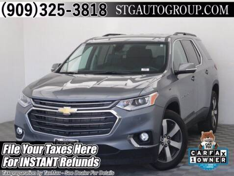 2020 Chevrolet Traverse for sale at STG Auto Group in Montclair CA