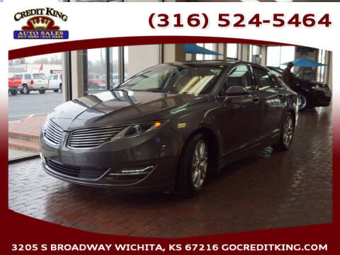 2014 Lincoln MKZ for sale at Credit King Auto Sales in Wichita KS