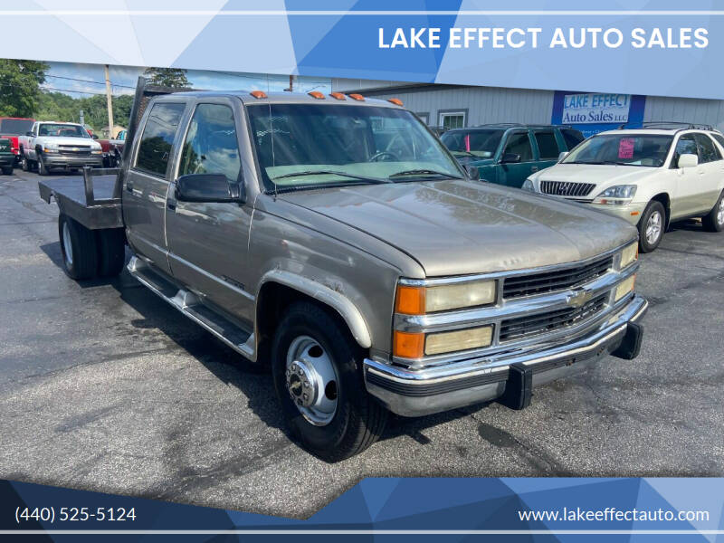 1999 Chevrolet C/K 3500 Series for sale at Lake Effect Auto Sales in Chardon OH