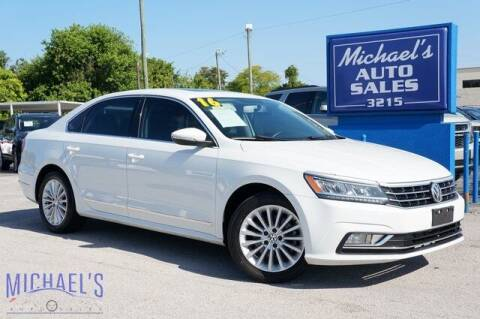2016 Volkswagen Passat for sale at Michael's Auto Sales Corp in Hollywood FL