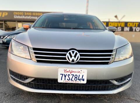 2012 Volkswagen Passat for sale at Global Auto Group in Fontana CA