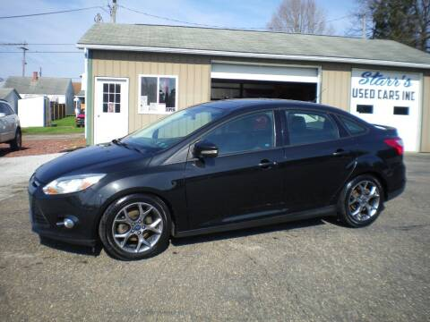 2014 Ford Focus for sale at Starrs Used Cars Inc in Barnesville OH