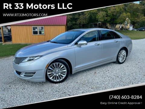2013 Lincoln MKZ for sale at Rt 33 Motors LLC in Rockbridge OH