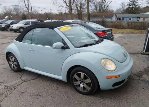 2006 Volkswagen New Beetle Convertible for sale at Superior Motors in Mount Morris MI