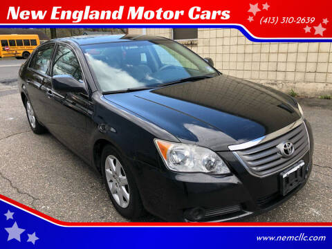 2009 Toyota Avalon for sale at New England Motor Cars in Springfield MA